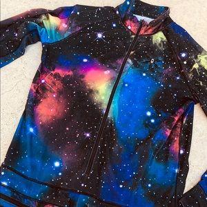 Galaxy onesie